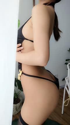 鬼畜1 鬼畜瑶 NO.036 黑色短款旗袍
